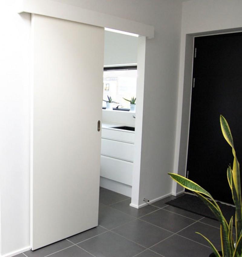 Skydedøre er med til at skabe mere plads i dit hjem