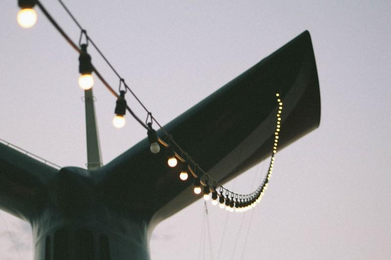Bliv fri for ledninger med lyskæder med solceller